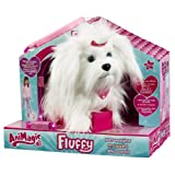 Animagic 31150.4300 - Elektronische Haustier Hund, Fluffy