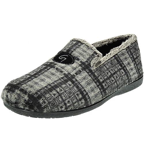 GARZÓN. Zapatilla Cerrada Confortable Pelo Calle Invierno para Hombre - Modelo 6501.292: Amazon.es: Zapatos y complementos
