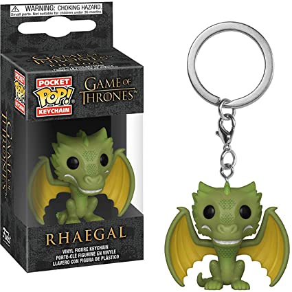 Amazon.com: Funko Rhaegal: Game of Thrones x Pocket POP ...