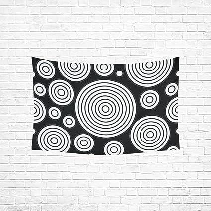 Amazon Com Tianyuss Tapestry Circles Blank Template Design Hippie