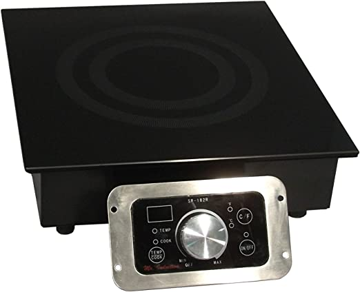 Amazon.com: El Sr. Inducción sr-343r 3400-watt integrado ...
