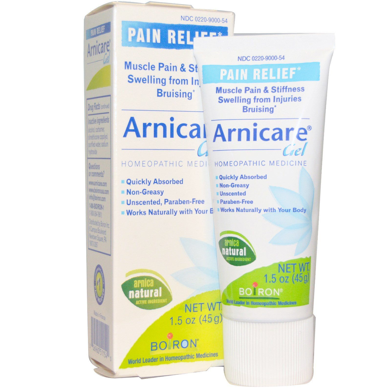 Boiron Arnica Gel Homeopathic Medicine 1.50 oz