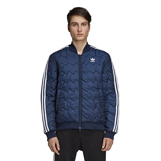 5e0d357e adidas Originals Mens SST Quilted Jacket Track Jackets: Amazon.ca: Clothing  & Accessories
