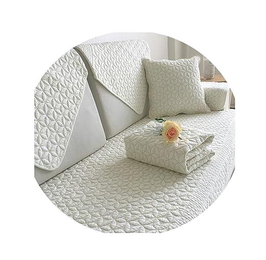 AngelLove SofaSlipcovers - Funda de sofá de algodón para ...