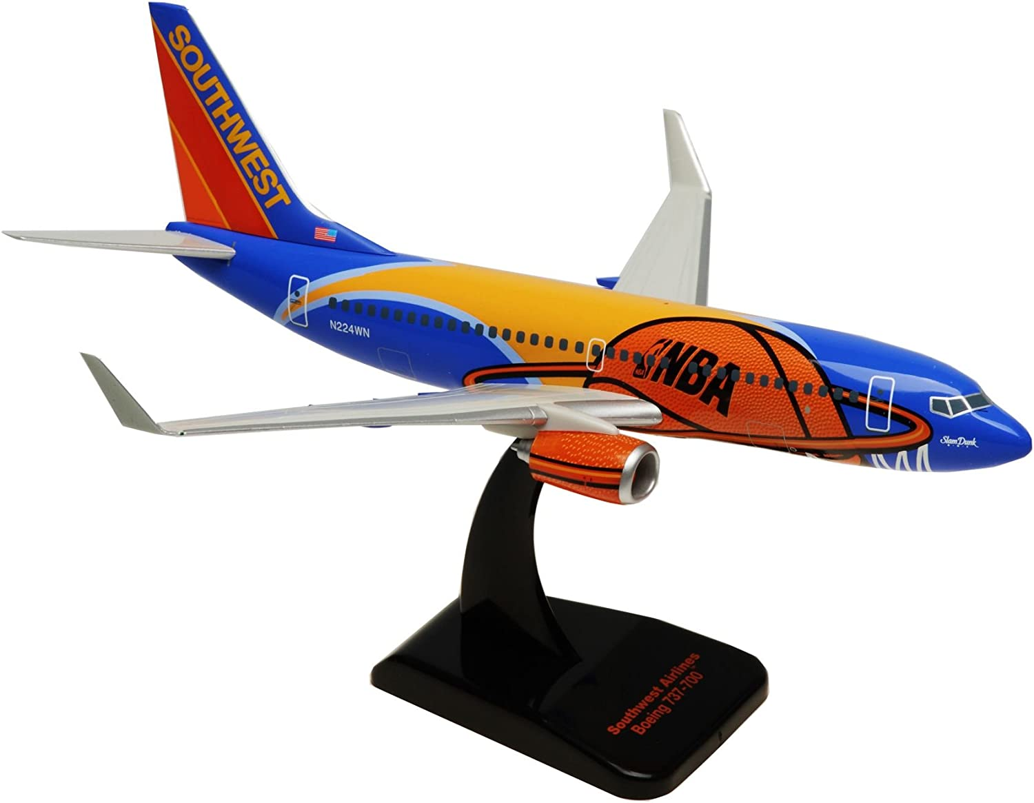 Boeing 737-700 South African Airways Slam Dunk One 1:200