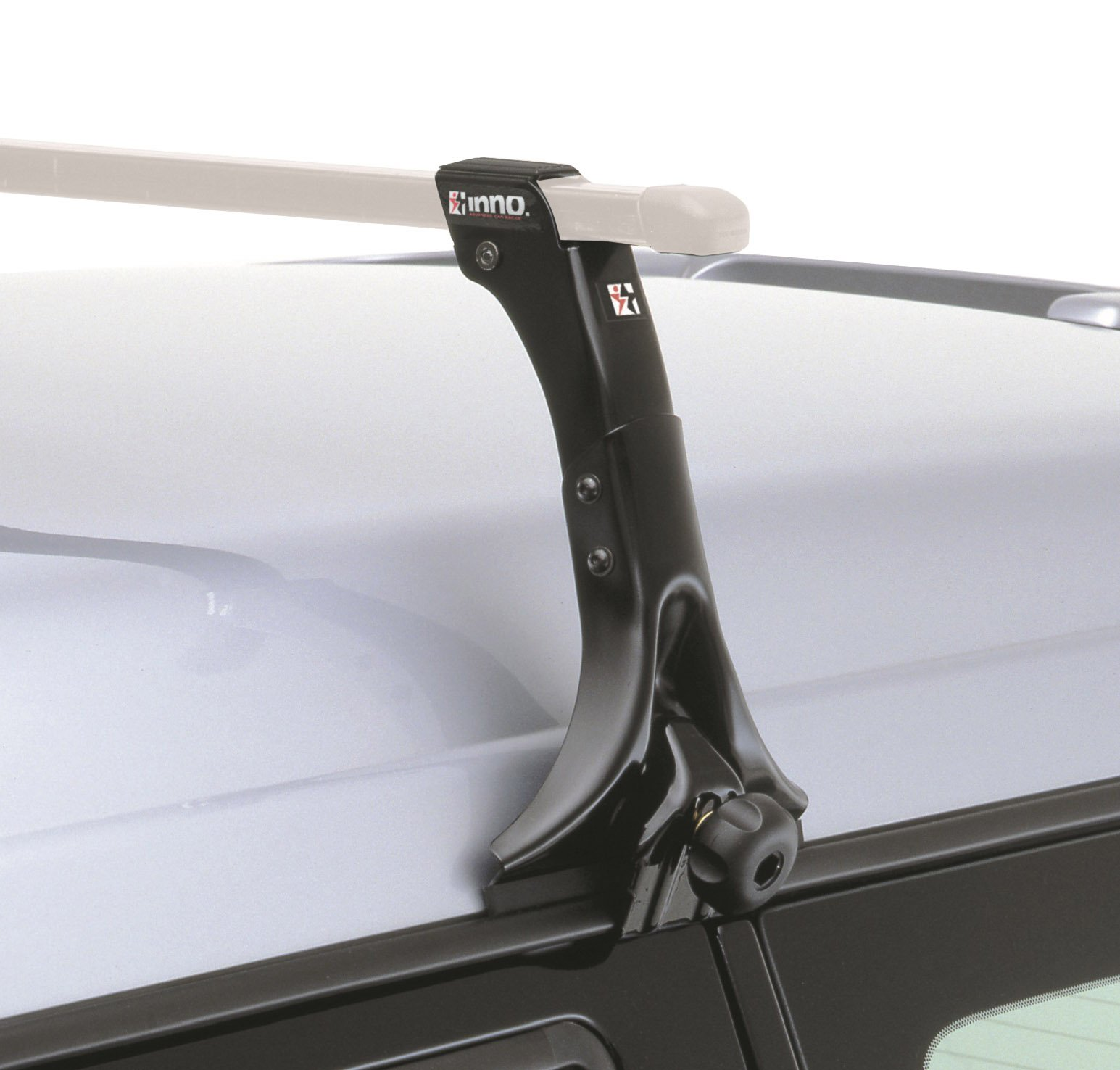 INNO 4 Pack of Roof Rack Stays with Locking System for Clearance On Vehicles, 11 Inch (Black) by INNO