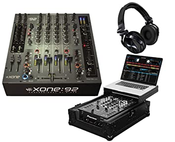Allen & Heath Xone 92 Fader + Pro DJ auriculares + Odyssey Glide para ordenador portátil