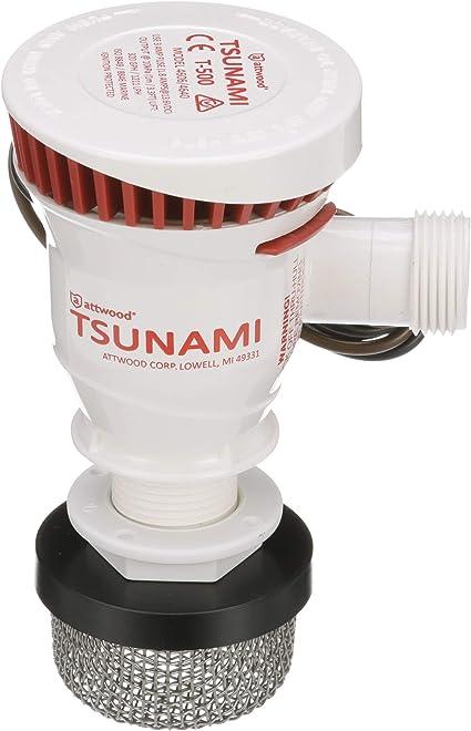 Attwood Marine Tsunami T-500 Recirq Livewell Aerator Kit 4253-7