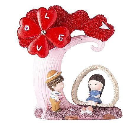 VintFlea Love - Estatua Musical para decoración del hogar ...