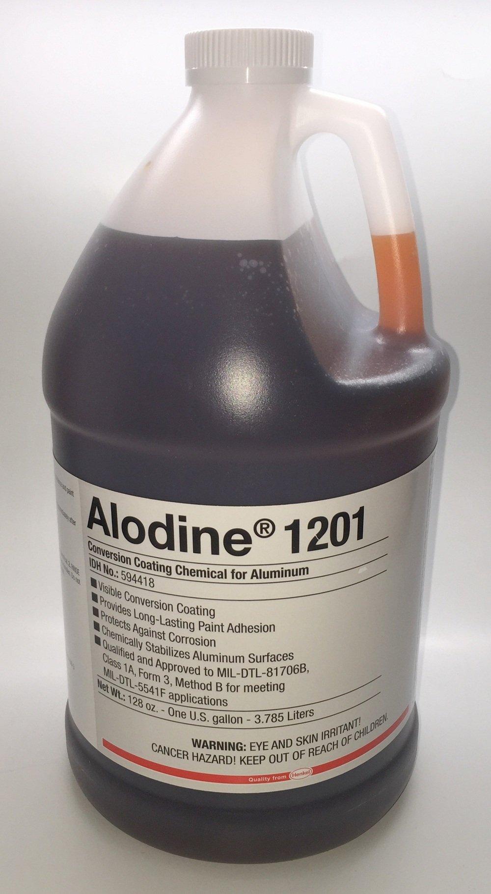 Henkel - Alodine 1201 Light Metals Conversion Coating/Bonderite M-CR, Gallon by Henkel