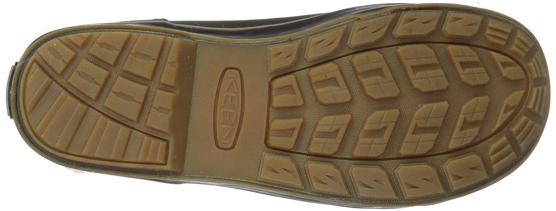 KEEN Women's Elsa Chelsea Waterproof Boot B01N53O330 11 B(M) US|Coffee Bean/Monks Robe