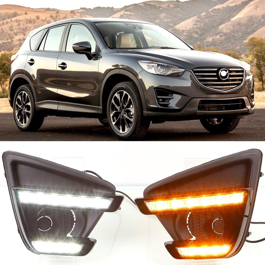 dongzhen Tagfahrlicht LED-Scheinwerfer Lampe für Mazda CX-5 2012 ...