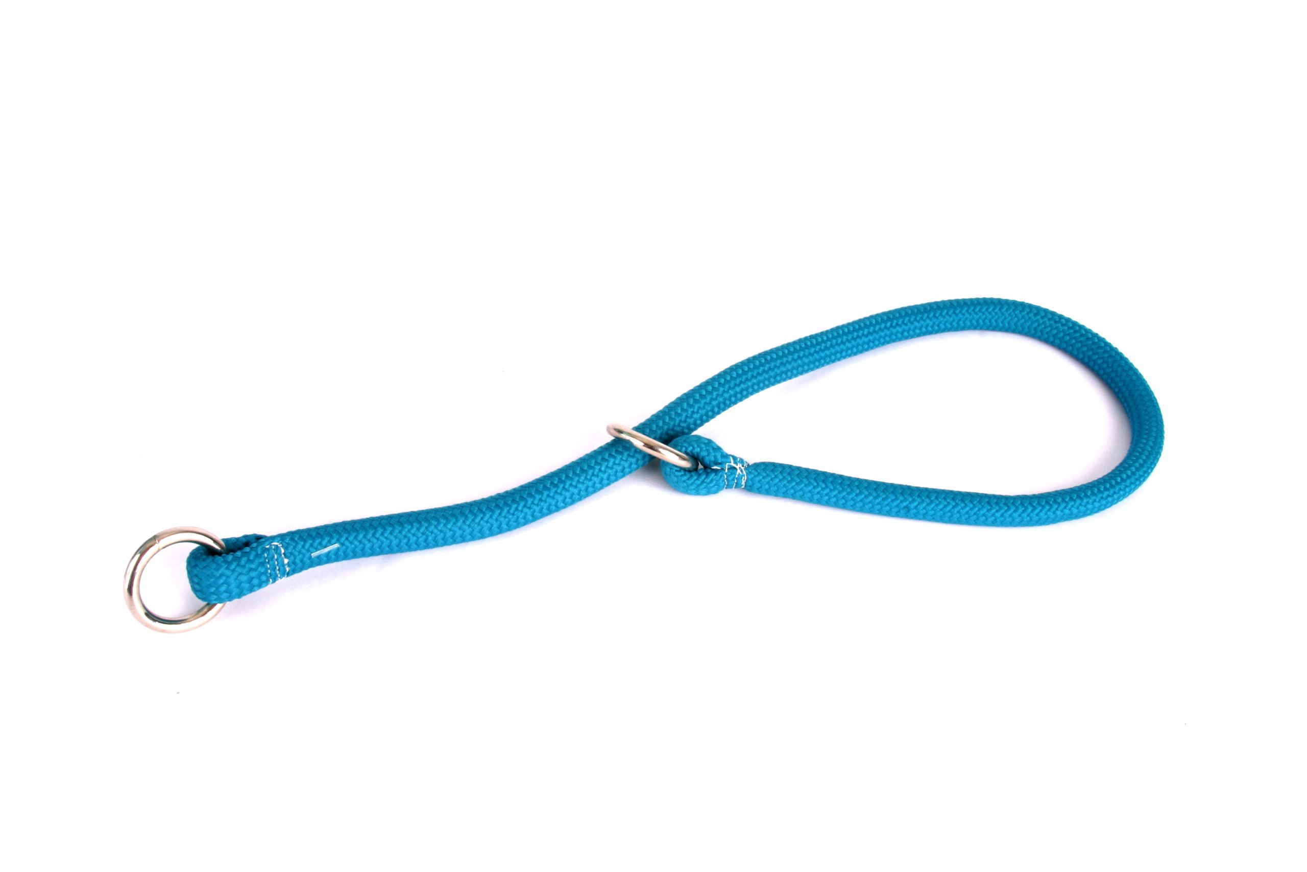 Yellow Dog Design Braided Training Collar for Dogs, 24-Inch, Teal
