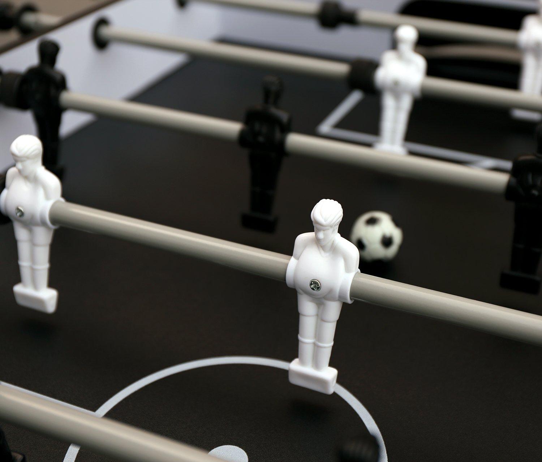 HLC - Mesa de juegos multifunción, 4 en 1 (futbolín, tenis de mesa ...