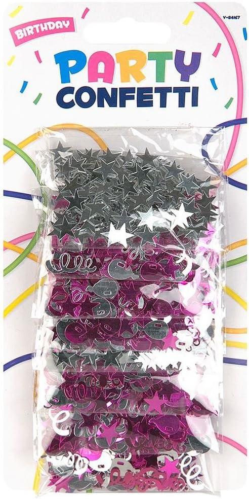 Lot tienda fiesta confeti Tarjeta de cumpleaños boda aniversario decoración bundle, 1 pack: Amazon.es: Hogar