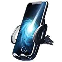 iBebs Car Phone Mount,Universal Smartphone Car Air Vent Mount Holder,Car Phone Holder for iPhone X/8/8Plus/7/7Plus/6s/6Plus/5S, Galaxy S5/S6/S7/S8, Google Nexus, LG, Huawei and More