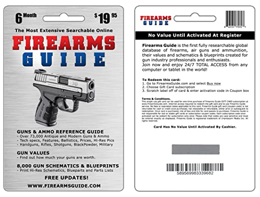 Amazon.com: Firearms Guide 9th Edition Online - the world's largest on handgun concepts, handgun diagrams, handgun power, handgun components, handgun prototypes, handgun information, handgun parts, handgun dimensions, handgun accessories, handgun drawings, handgun illustrations, handgun blueprints, handgun safety,