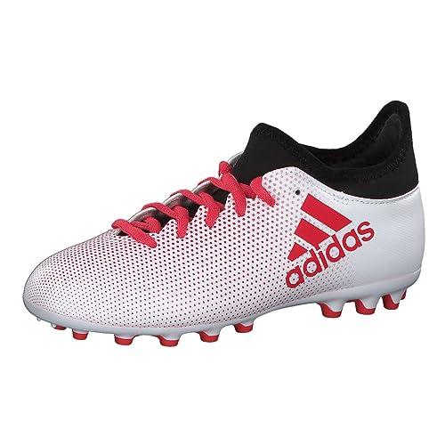 adidas X 17.3 AG, Scarpe da Calcio Unisex-Bambini, Grigio Grey/Reacor