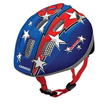 Carrera E0379 Pepe Casque pour enfant Bleu Blue Red Flash 53-56 cm ... 376fe1f17ba6