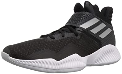 sports shoes 4cc34 87c48 adidas Men s Explosive Bounce 2018 Basketball Shoe Black Silver  Metallic Light Solid Grey 4