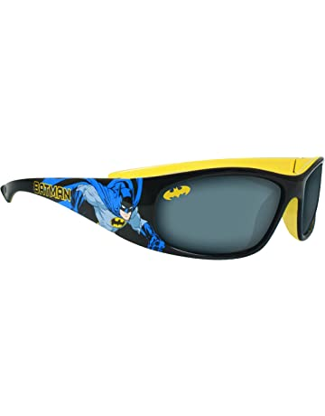 41d2d9f5a Batman Children's Black and Yellow Plastic Sunglasses
