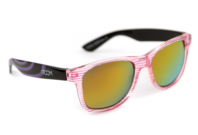 BOOM Realm Premium Bi-Color Polarisierte Sonnenbrille - FLAMINGO 40CxzPlA7a