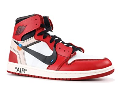 save off 47492 c55eb Amazon.com | The 10: Air Jordan 1 'Off-White' - Aa3834-101 ...