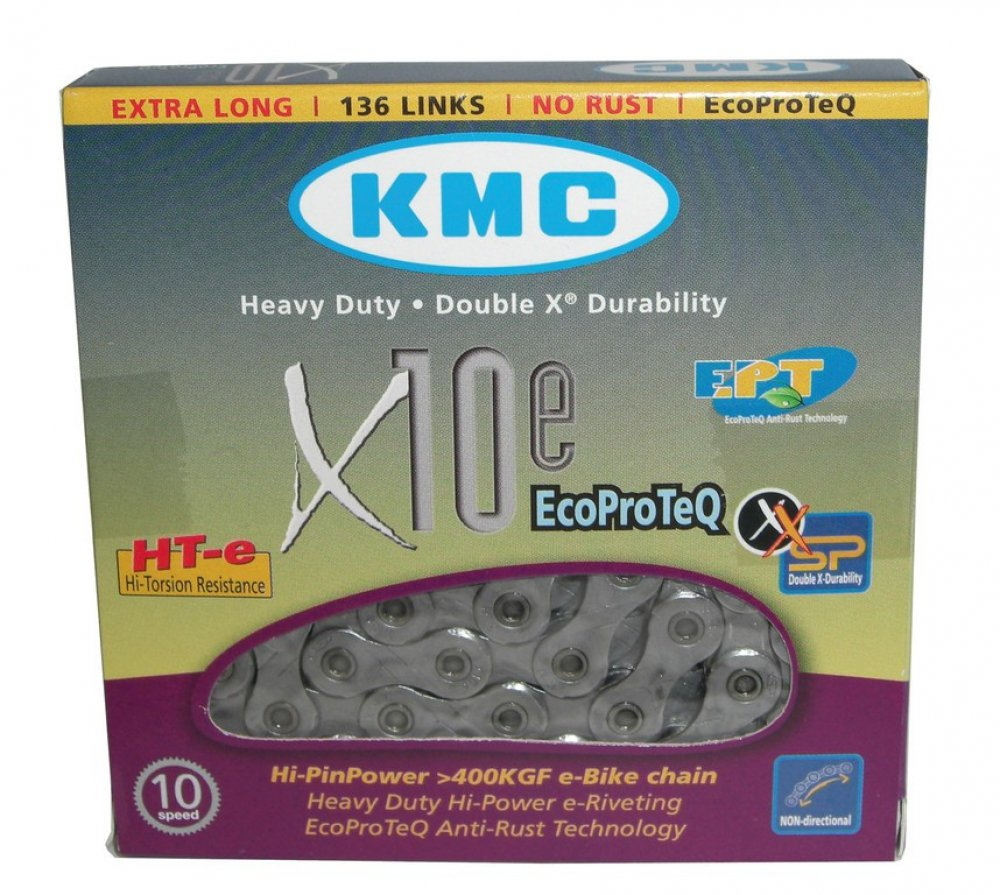 KMC X9e EcoProteQ 9-fach Kette////136 Glieder Anti-Rost