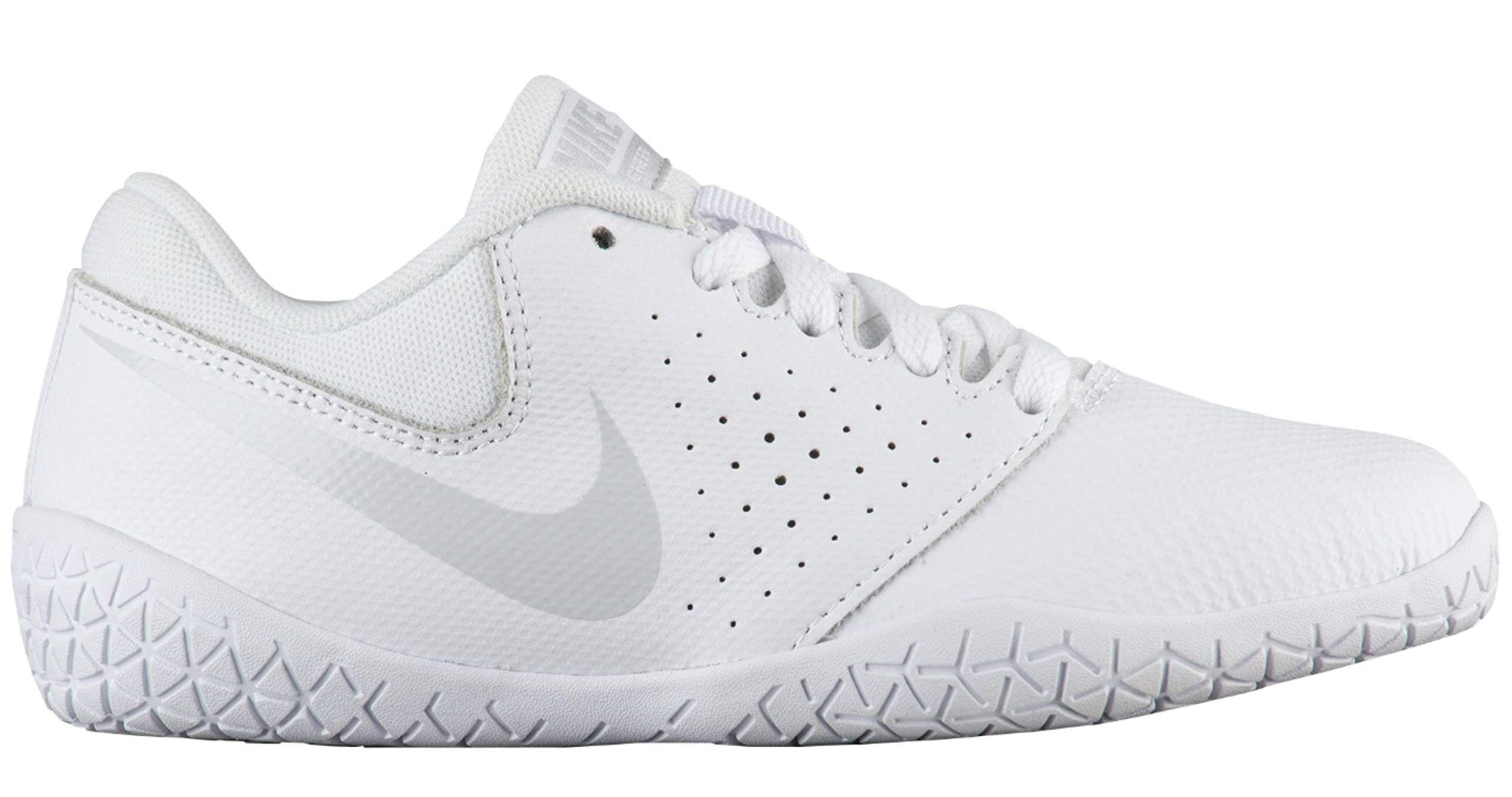 new products for hot-selling speical offer Nike Girl's Youth Cheer Sideline IV Cheerleading Shoes (12 M US Little Kid,  White/Pure Platinum/White)
