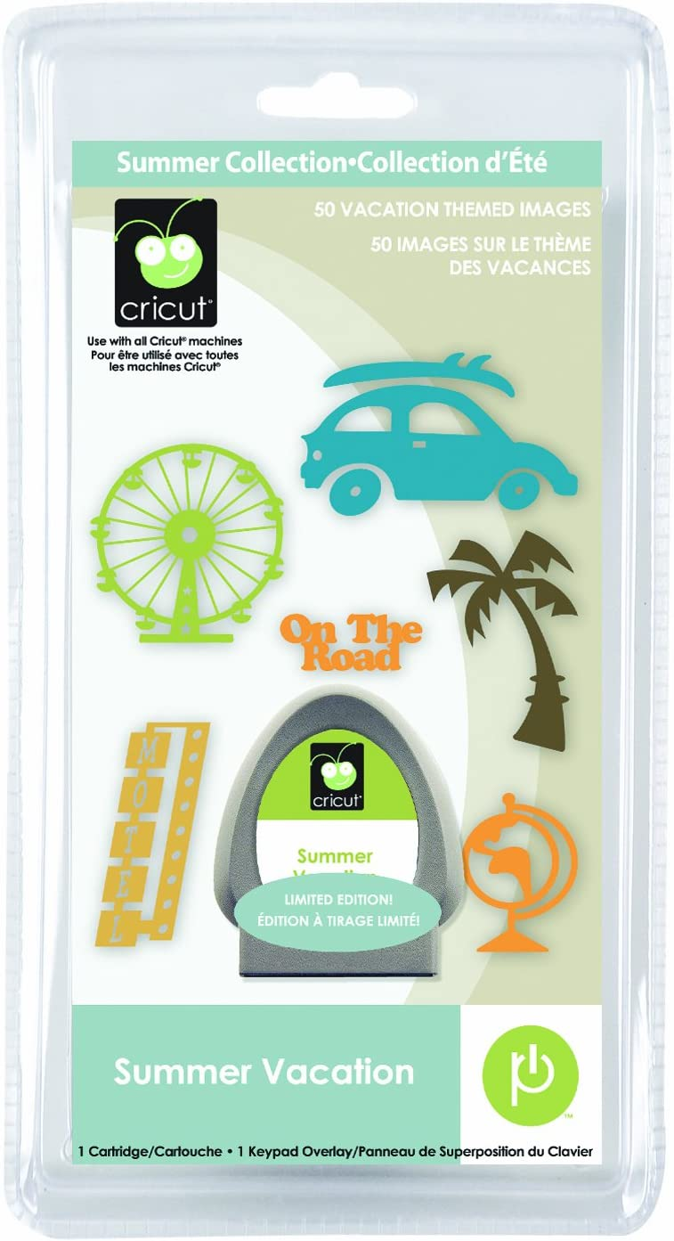 Cricut Seasonal Cartridge, Summer Vacation