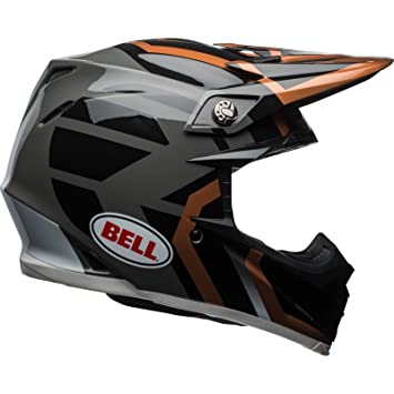 7091776 - Bell Moto-9 MIPS District Motocross Helmet XXL Copper Black Charcoal