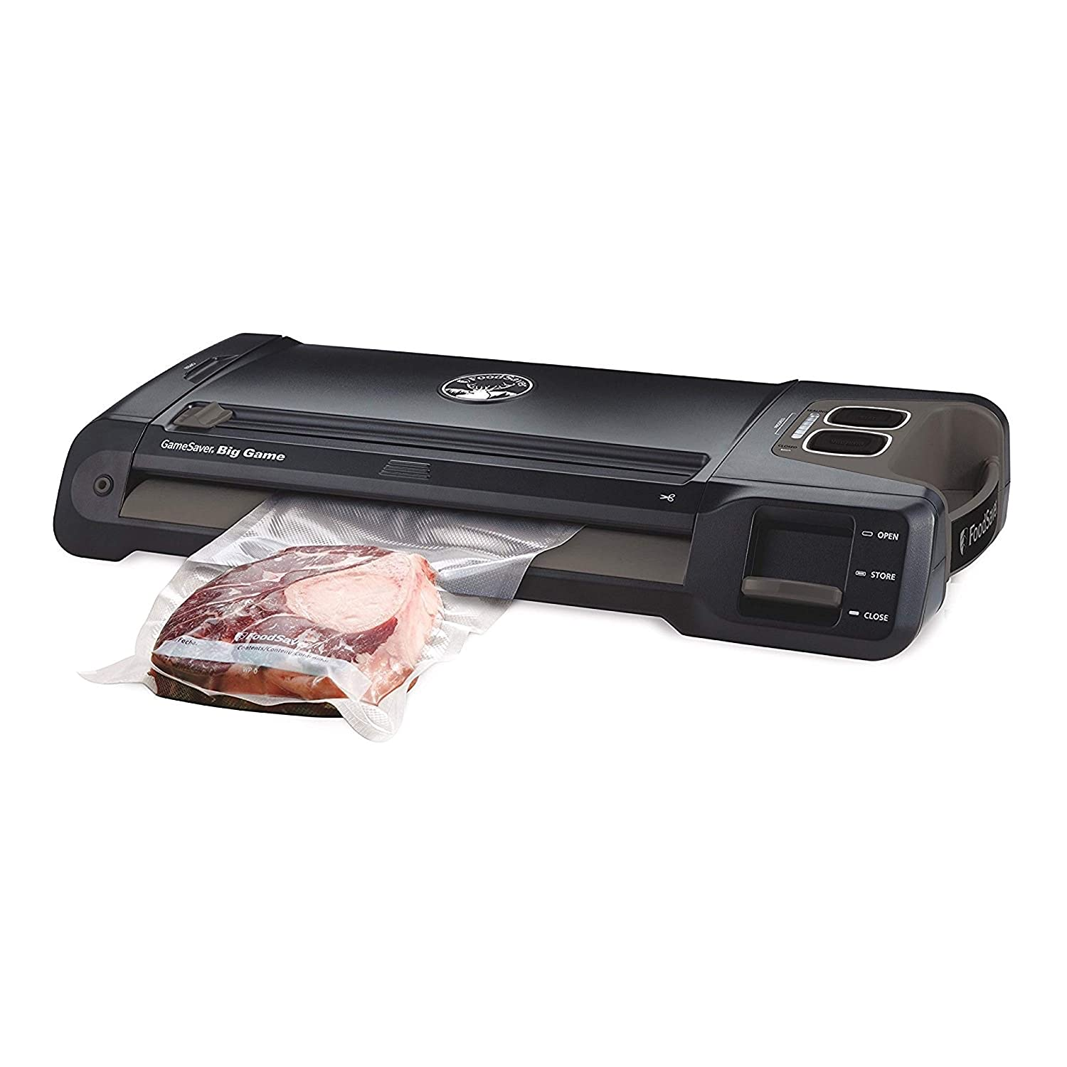 FoodSaver Vacuum Sealer GM710-000 GameSaver Big Game Sealing System, reg Black