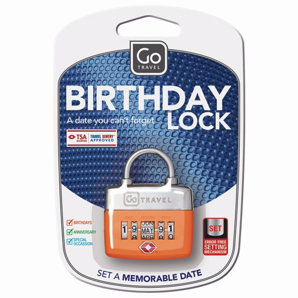 Design Go Birthday Lock - Assorted 355