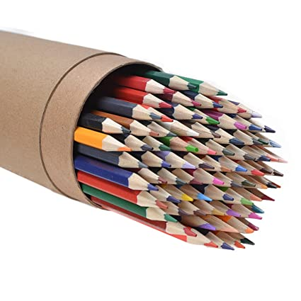 Amazon Com Cyper Top 80 Color Colored Pencils Set For Adults And