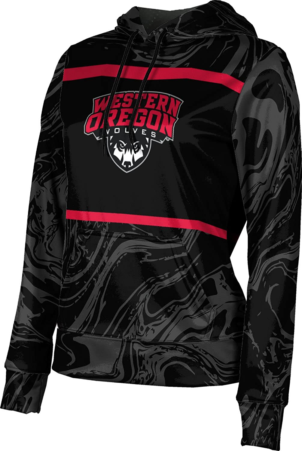 ProSphere Western Oregon University Girls' Pullover Hoodie - Ripple