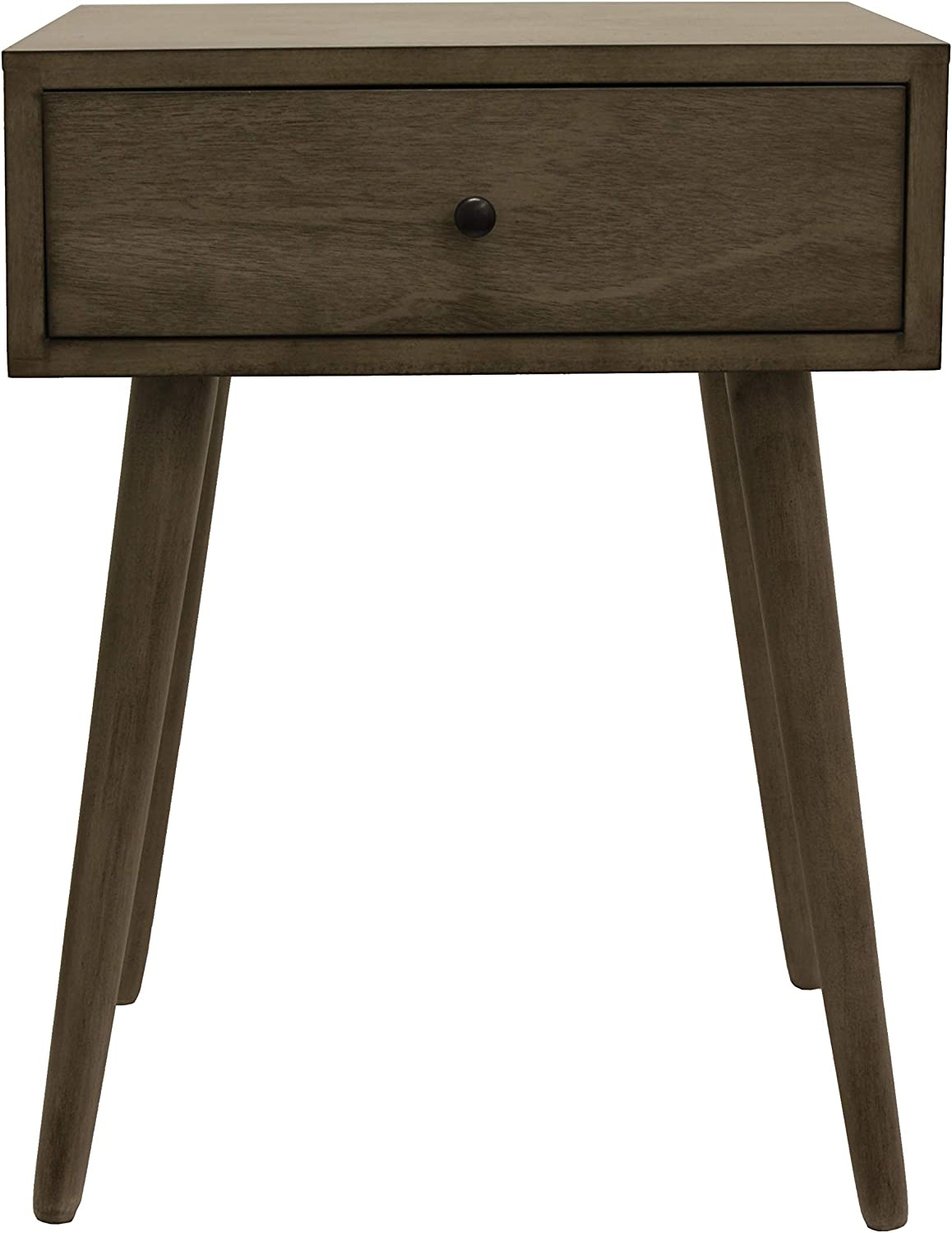 Decor Therapy Side Table, Resotration Gray