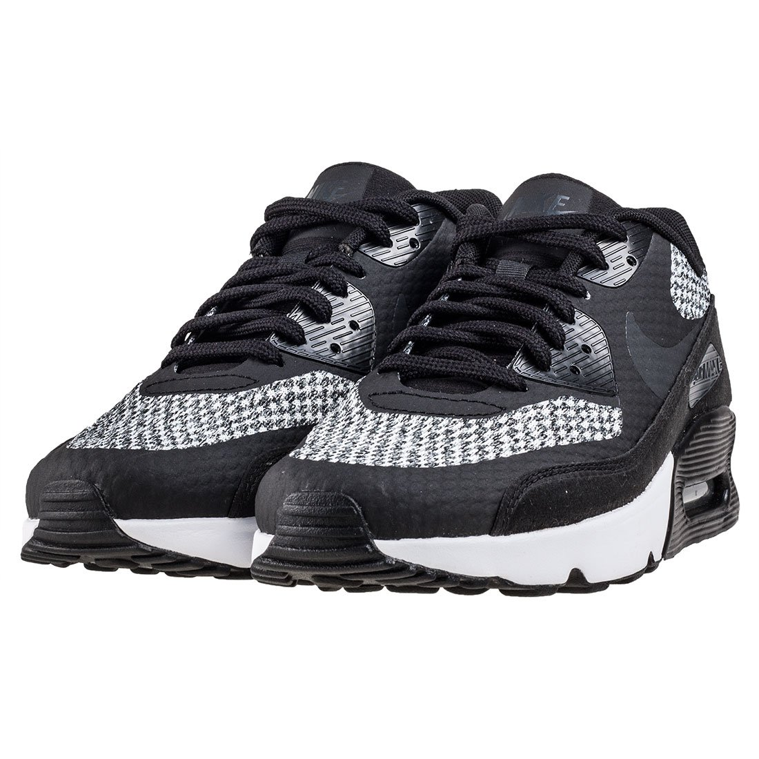 Nike Air Max 90 Ultra 2.0 Se GS Junior Running Trainers 917988 Sneakers Shoes UK 5 US 5.5Y EU 38, Black Anthracite Cool Grey 005