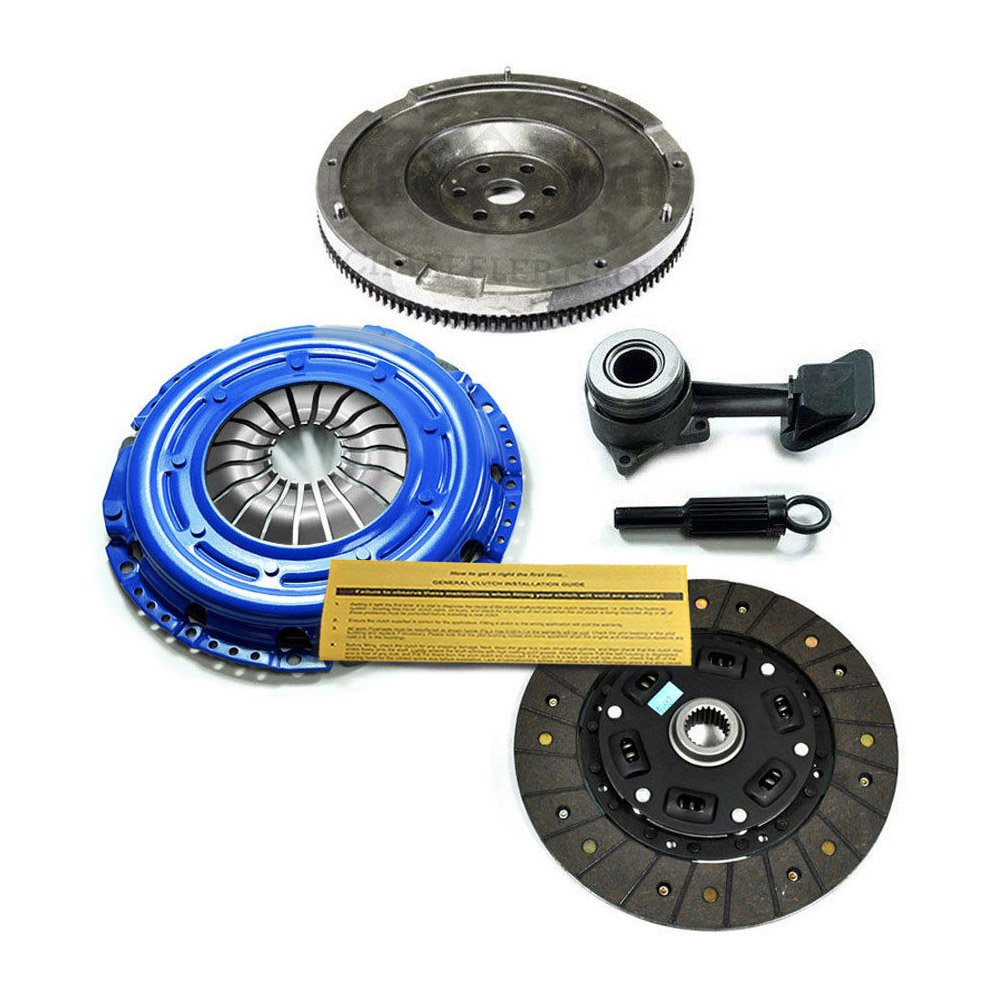 Amazon.com: EFT STAGE 1 CLUTCH KIT+SLAVE CYL+FLYWHEEL 2000-2004 FORD FOCUS 2.0L DOHC 4CYL: Automotive