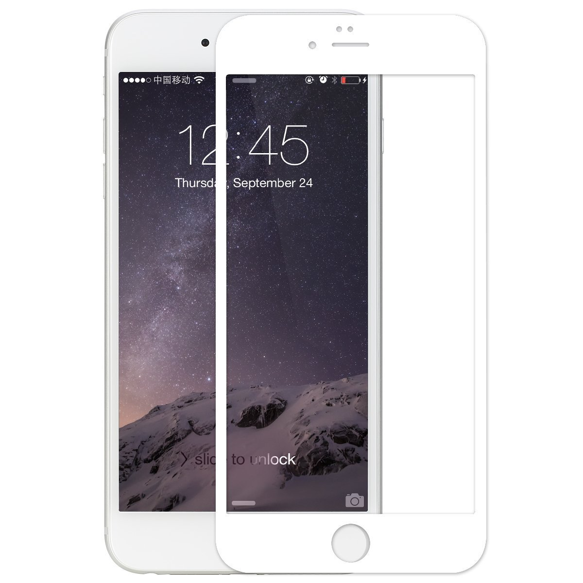 online store 48415 375f2 Amazon.com: iPhone 6S Screen protector, Tempered Glass Anti Glare ...