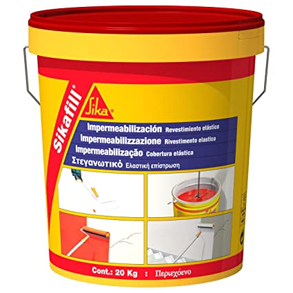 Sika M289996 - Impermeabilizante sikafill rojo teja 5kg-93687