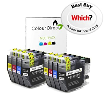 Colour Direct - 8 (2 Conjuntos) Compatible Cartuchos de Tinta ...