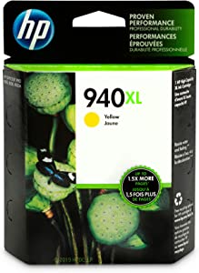 HP 940XL | Ink Cartridge | Yellow | C4909AN