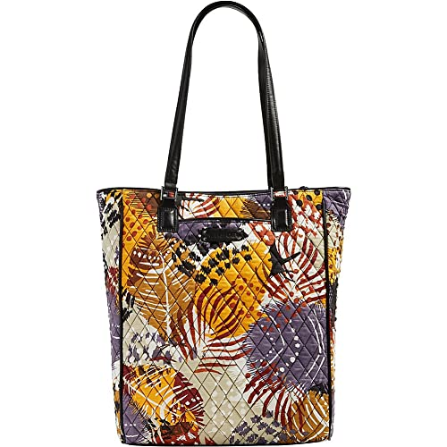 4d768cef32 Vera Bradley Crosstown Tote - Retired Prints (Painted Feathers with Black  Trim)  Amazon.ca  Shoes   Handbags