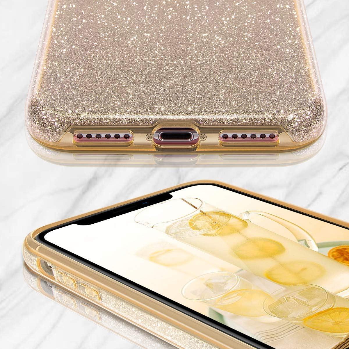 Enova - Carcasa para iPhone 11, diseño de Purpurina Brillante con ...