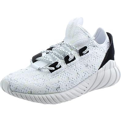 adidas Tubular Doom Sock PK J, Chaussures de Sport Mixte Enfant - Blanc - Blanc