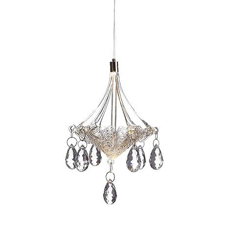 Amazon.com: Anvehu adornos de cristal soplado a mano lámpara ...