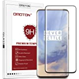 OMOTON Oneplus 7 Pro Full Coverage Tempered Glass Screen Protector with [3D Curved Edge to Edge] [9H Hardness Anti-Scratch] [Non-Bubbles]