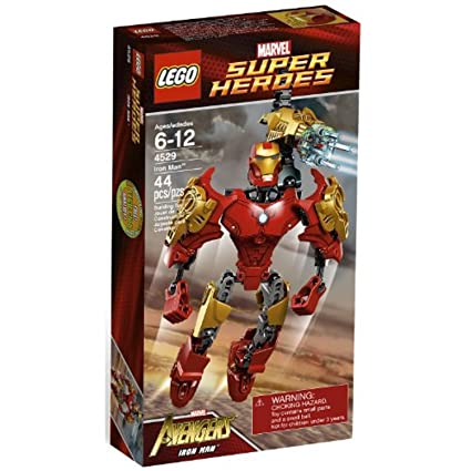 Amazon.com: LEGO Super Heroes Iron Man 4529: Toys & Games