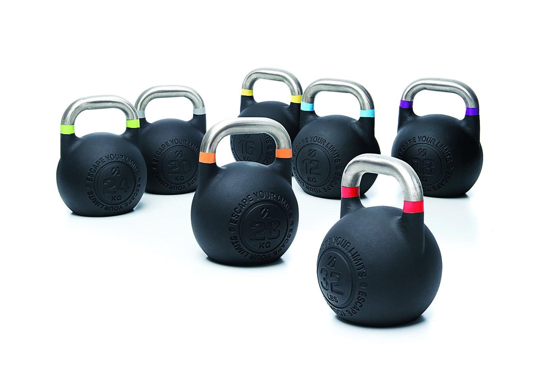 ESCAPE Competition Pro Kettlebell 2.0-8kg bis 28kg, einzeln