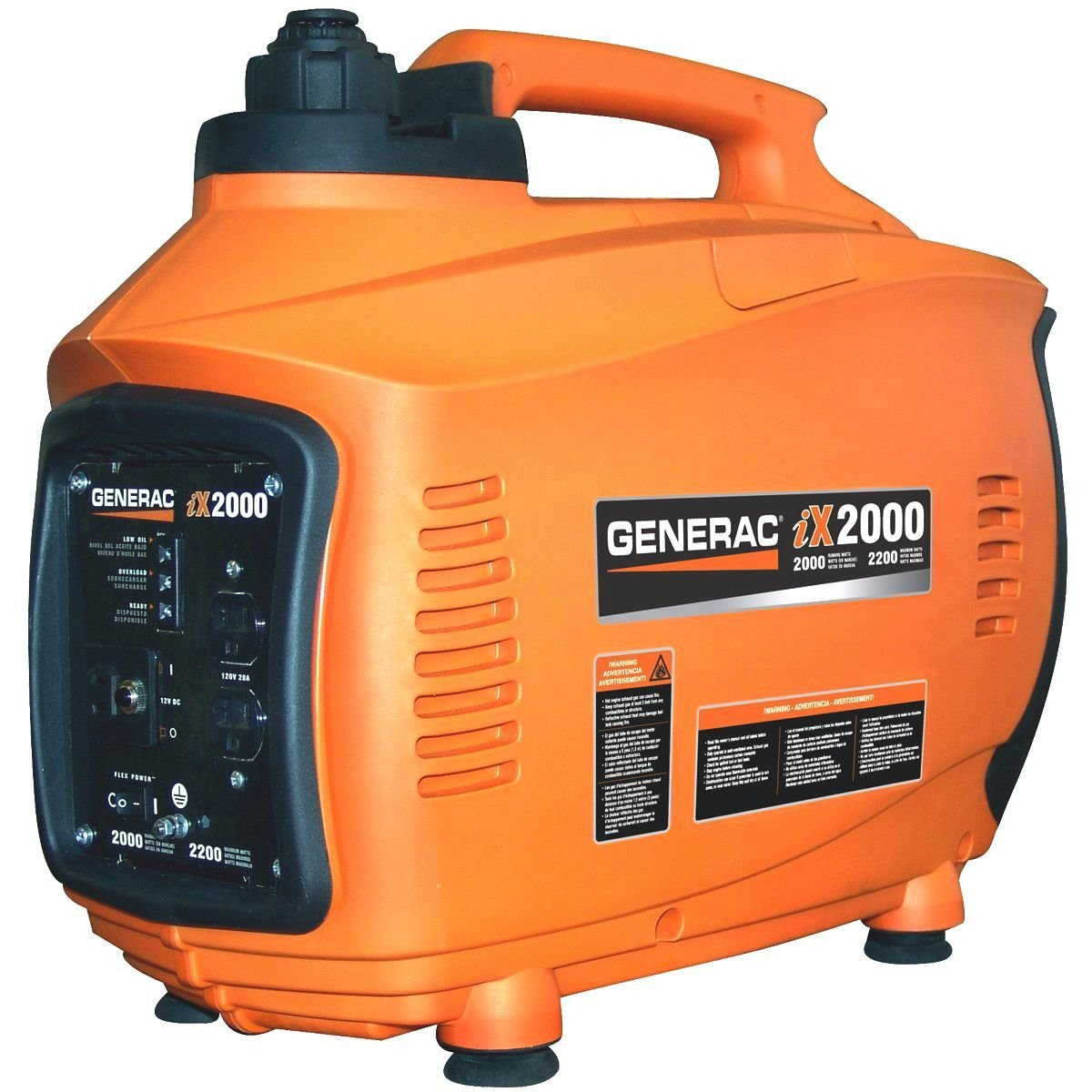 Amazon.com : Generac 5793, 2000 Running Watts/2200 Starting Watts, Gas  Powered Portable Inverter (Discontinued by Manufacturer) : Honda Generator  : Garden & ...